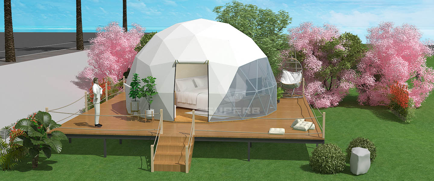 Big Discount for luxury dome tent -$888/set